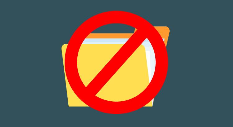 Organização de arquivos com Folderless: menos é mais!